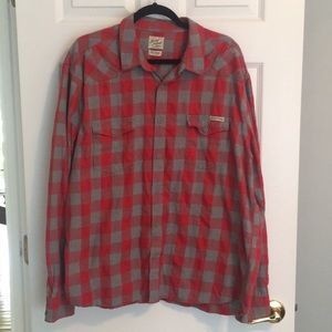 Lucky Brand Men's Distinctive Western Shirt